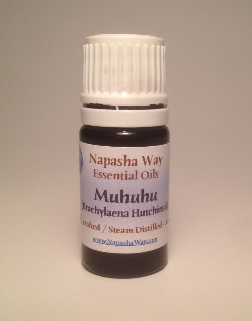 Five milliliter bottle with a Napasha Way Label
